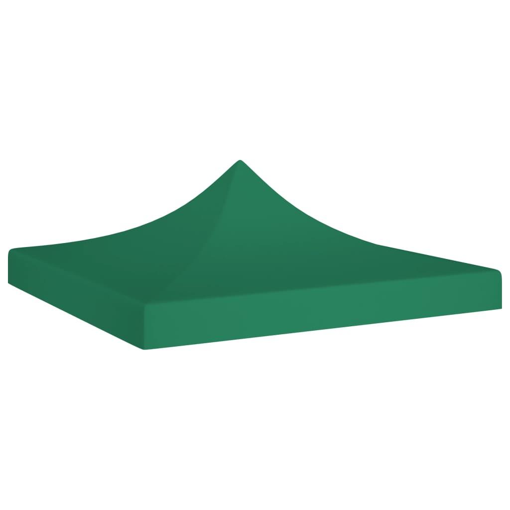 vidaXL Acoperiș pentru cort de petrecere, verde, 3 x 3 m, 270 g/m² vidaxl.ro