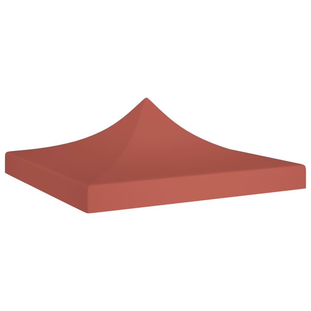 Střecha k party stanu 3 x 3 m cihlová 270 g/m²