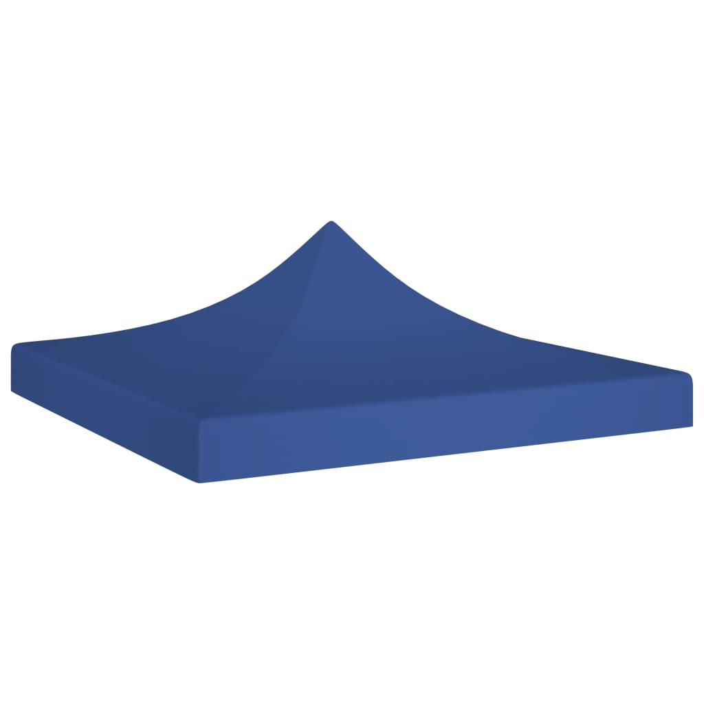 Střecha k party stanu 2 x 2 m modrá 270 g/m²