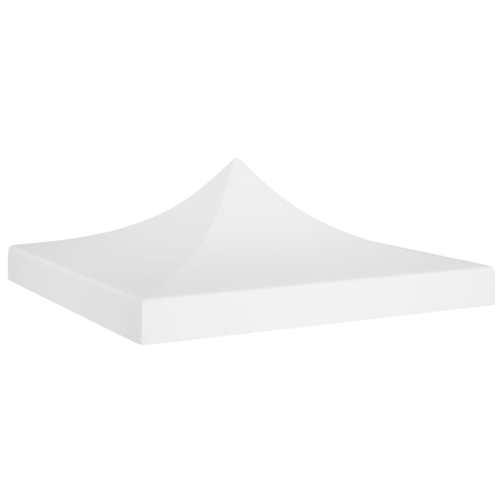 vidaXL Acoperiș pentru cort de petrecere, alb, 2 x 2 m, 270 g/m² poza vidaxl.ro