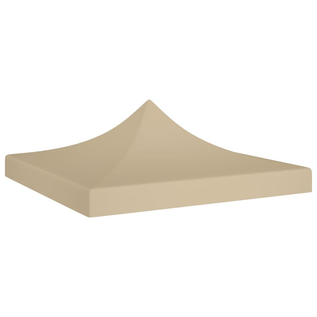 Střecha k party stanu 2 x 2 m béžová 270 g/m²