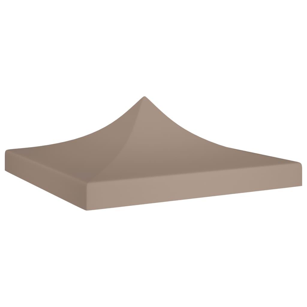 Střecha k party stanu 2 x 2 m taupe 270 g/m²