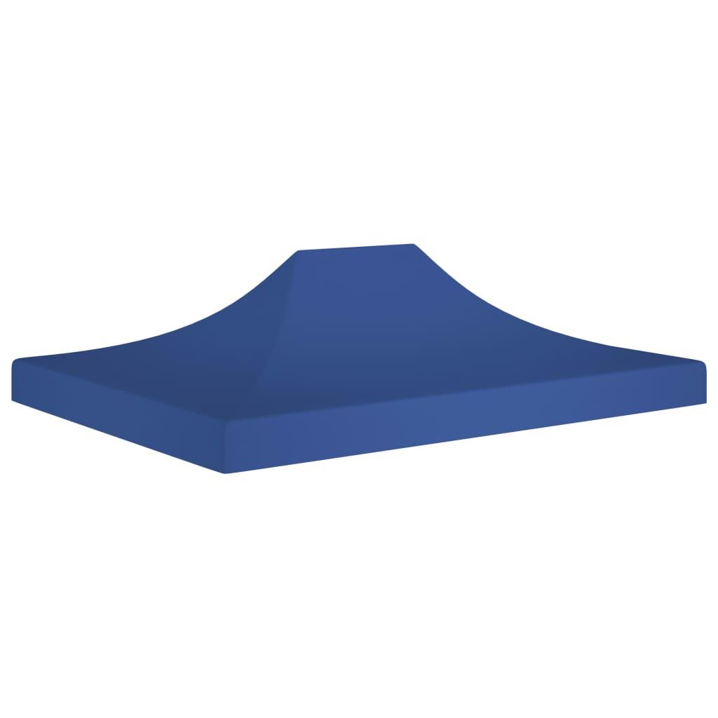 vidaXL Acoperiș pentru cort de petrecere, albastru, 4 x 3 m, 270 g/m² imagine vidaxl.ro