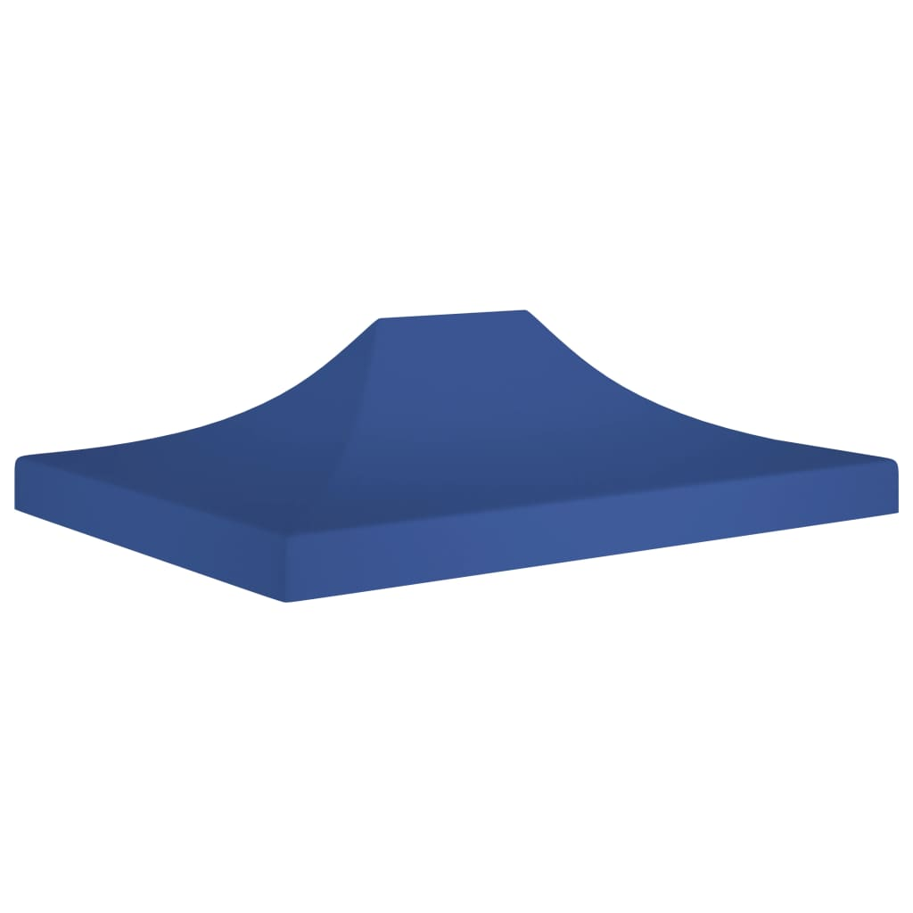 vidaXL Acoperiș cort de petrecere, albastru, 4,5 x 3 m, 270 g /m² vidaxl.ro