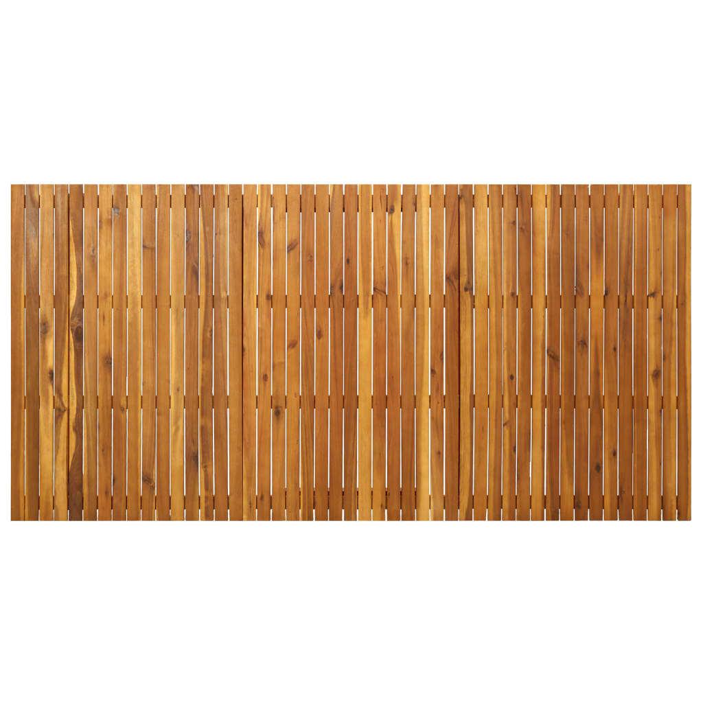 vidaXL 9-delige Tuinset massief acaciahout
