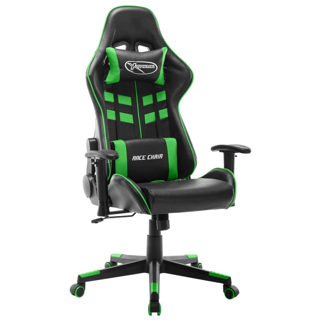 Mänguritool, must ja roheli..