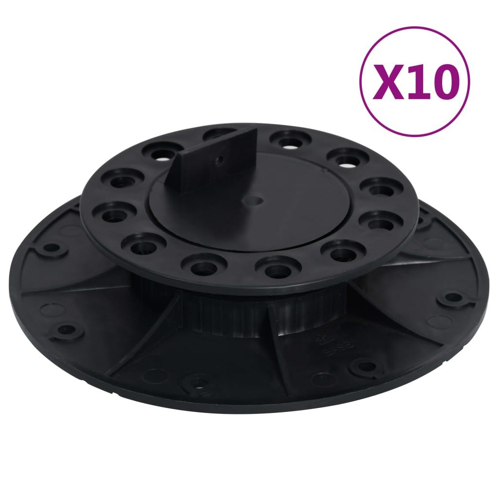 Výškově stavitelné terče 10 ks 25–40 mm