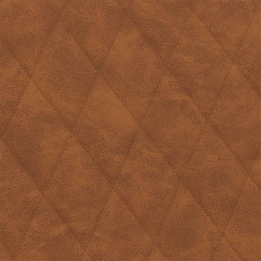 vidaXL Fotelja od umjetne kože mat smeđa