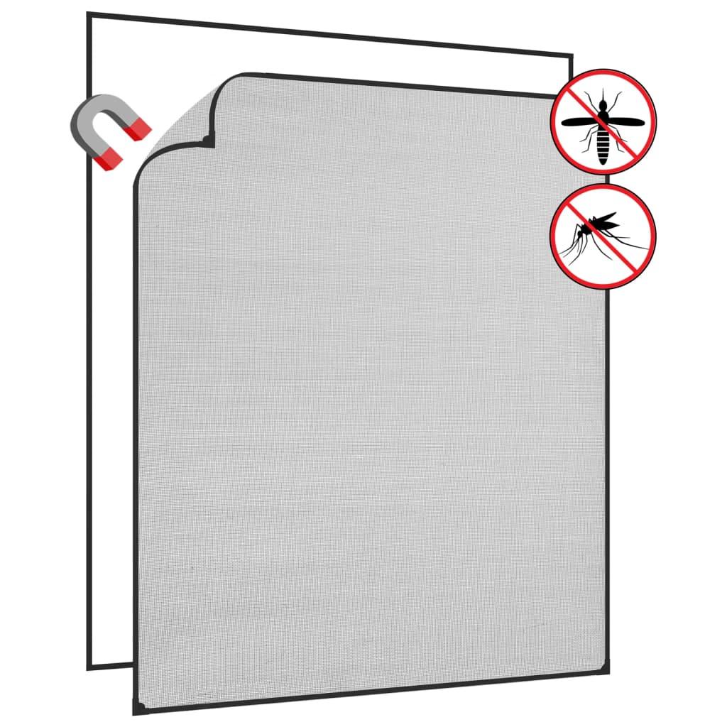 <ul><li>Rahmen-Farbe: Anthrazit</li><li>Netz-Farbe: Schwarz</li><li>Material: Fiberglas mit PVC-Beschichtung, PVC</li><li>Gesamtgröße: 130 x 150 cm (B x H)</li><li>PVC-Rahmen: 13 x 4 mm (B x H)</li><li>Mit Montagezubehör</li><li>Montage erforderlich: Ja</li></ul>