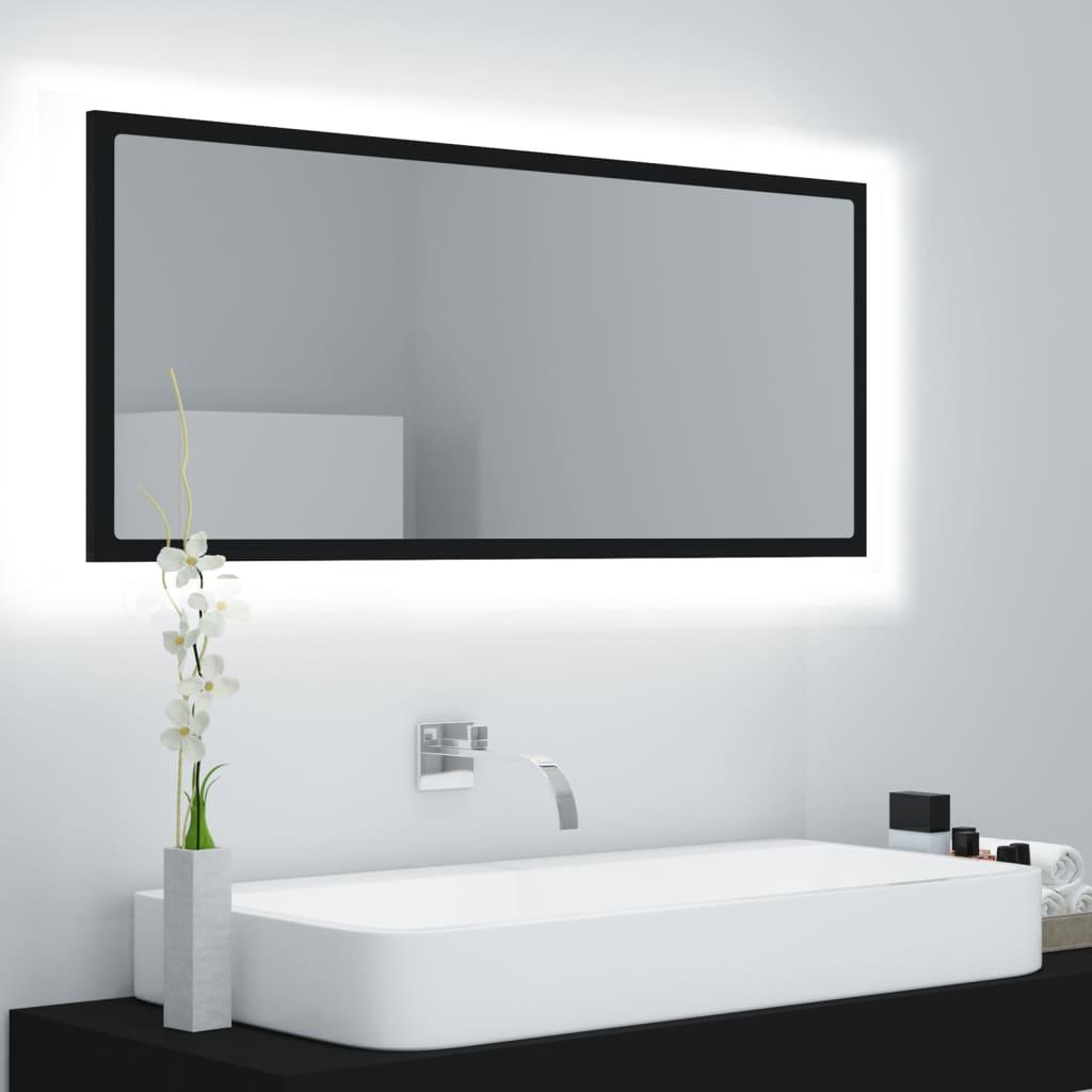LED vannitoa peeglikapp, mus..