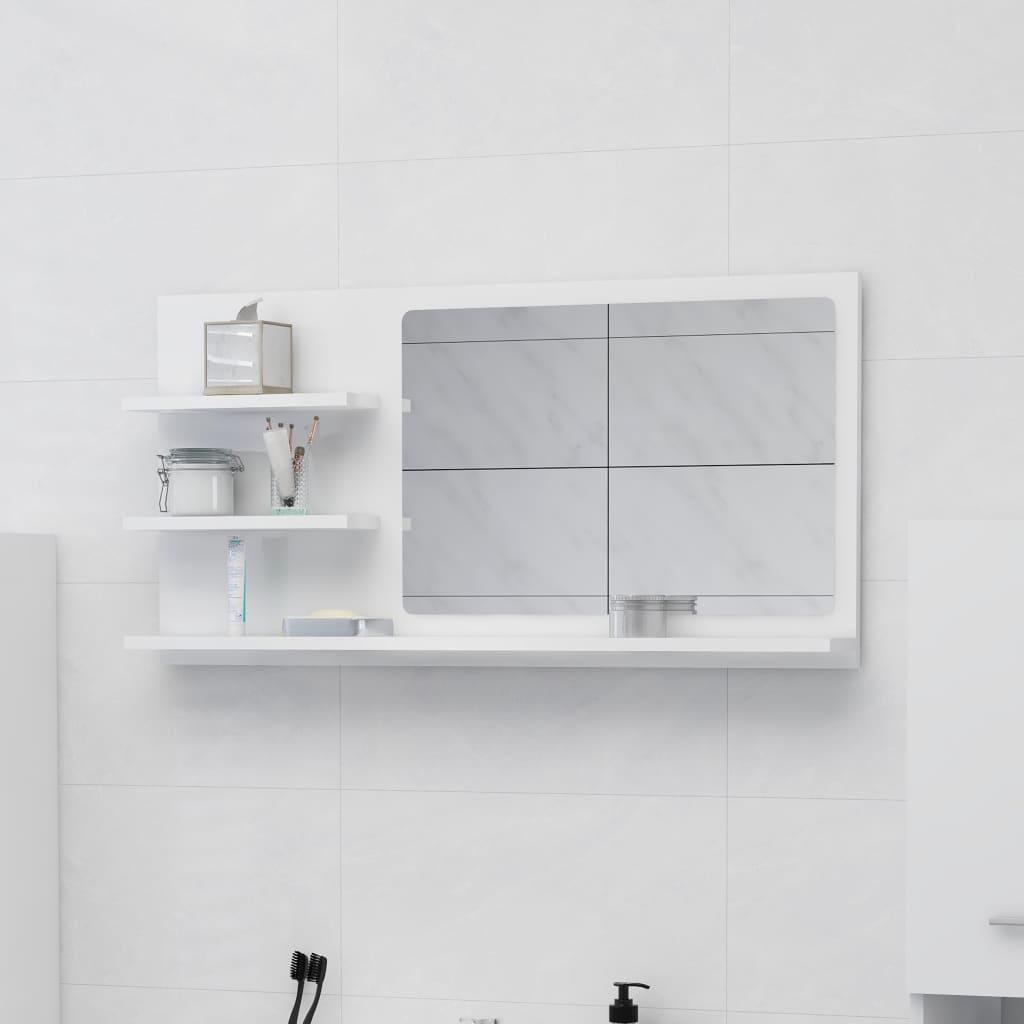 Vannitoa peeglikapp valge 90..