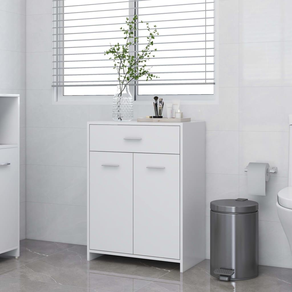 Koupelnová skříňka bílá 60 x 33 x 80 cm dřevotříska