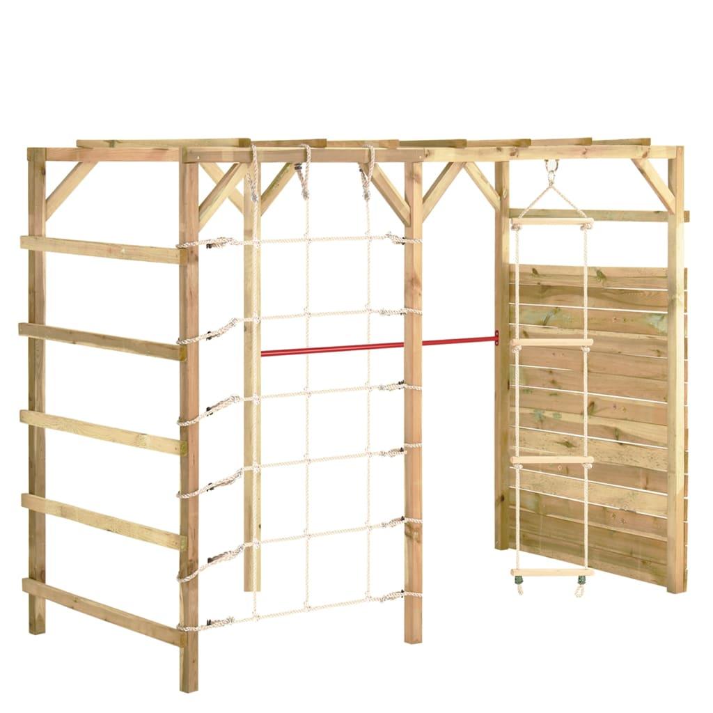 vidaXL Prolézačka 240 x 100 x 170 cm impregnované borové dřevo