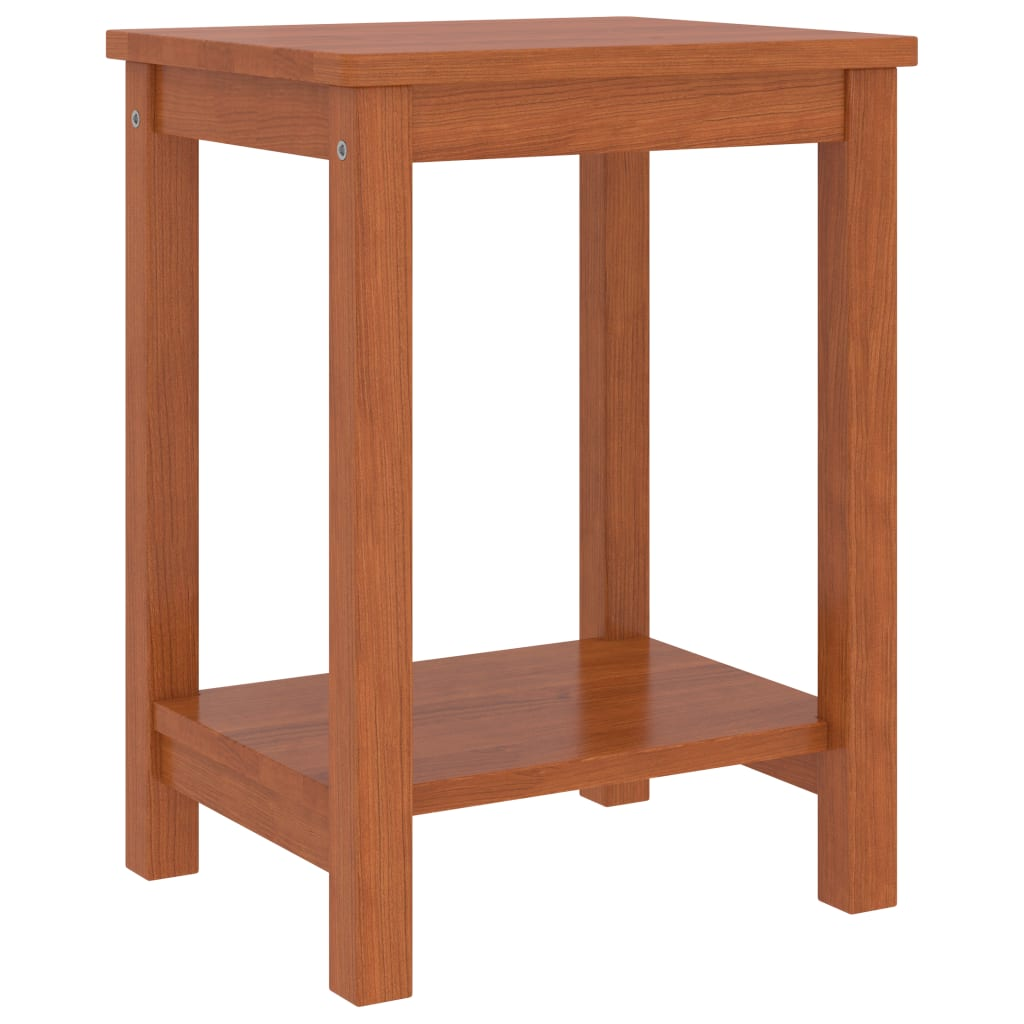 Noční stolek medově hnědý 35 x 30 x 47 cm masivní borové dřevo