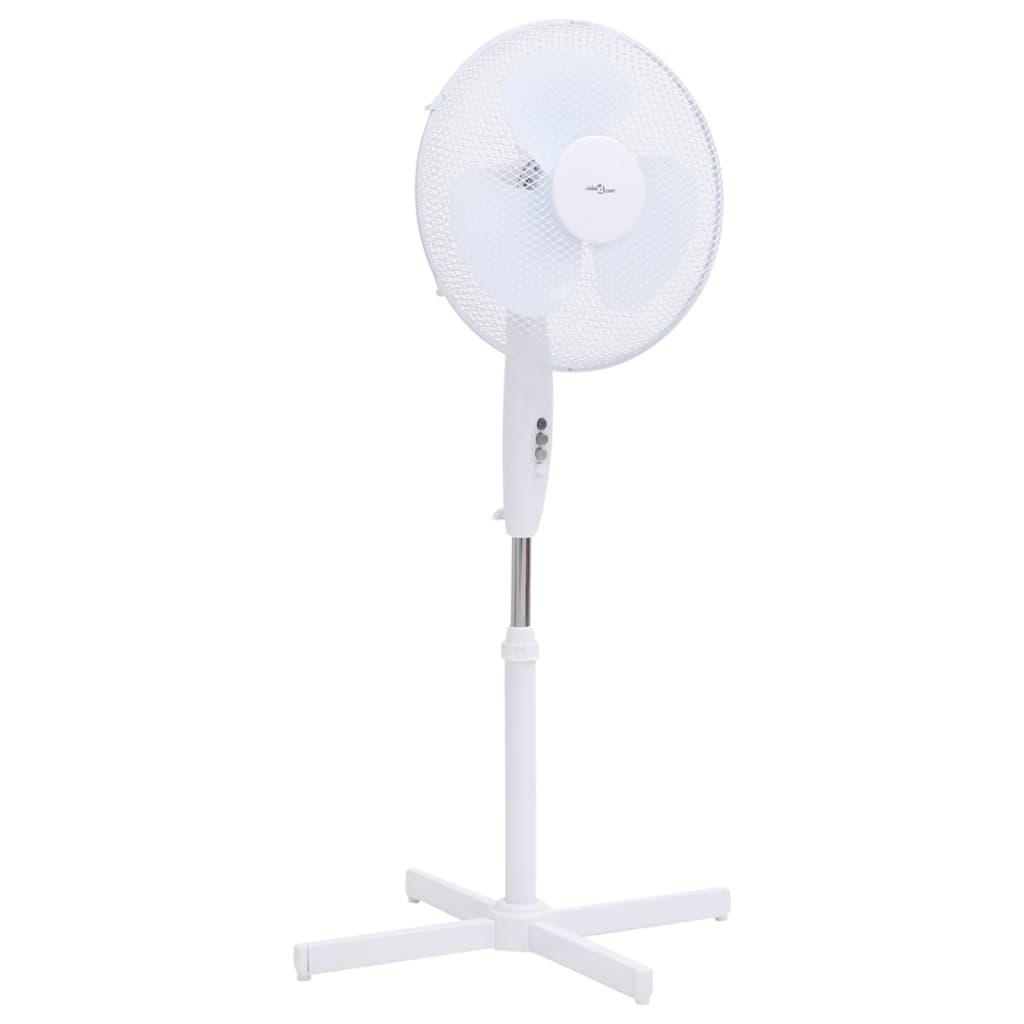 Stojanový ventilátor Φ 40 cm 120 cm bílý
