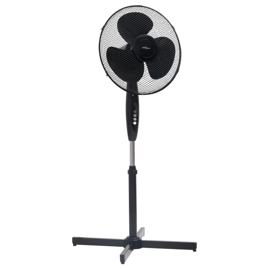 Stojanový ventilátor Φ 40 cm 120 cm černý