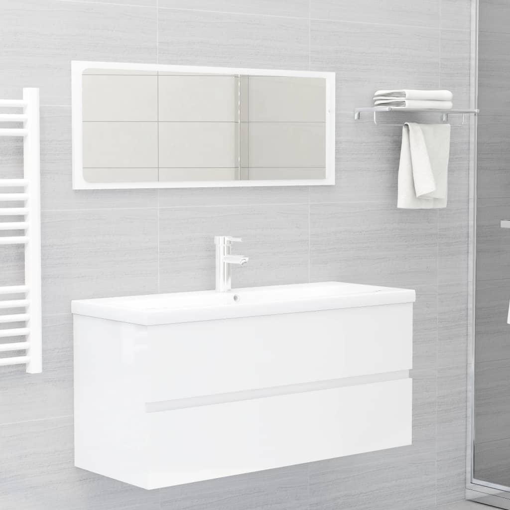 2-osaline vannitoamööbel, ..