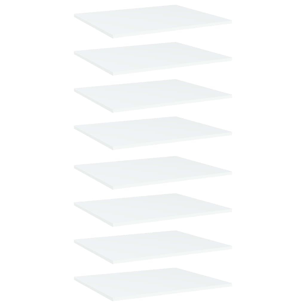 Riiuliplaadid 8 tk, valge, 6..
