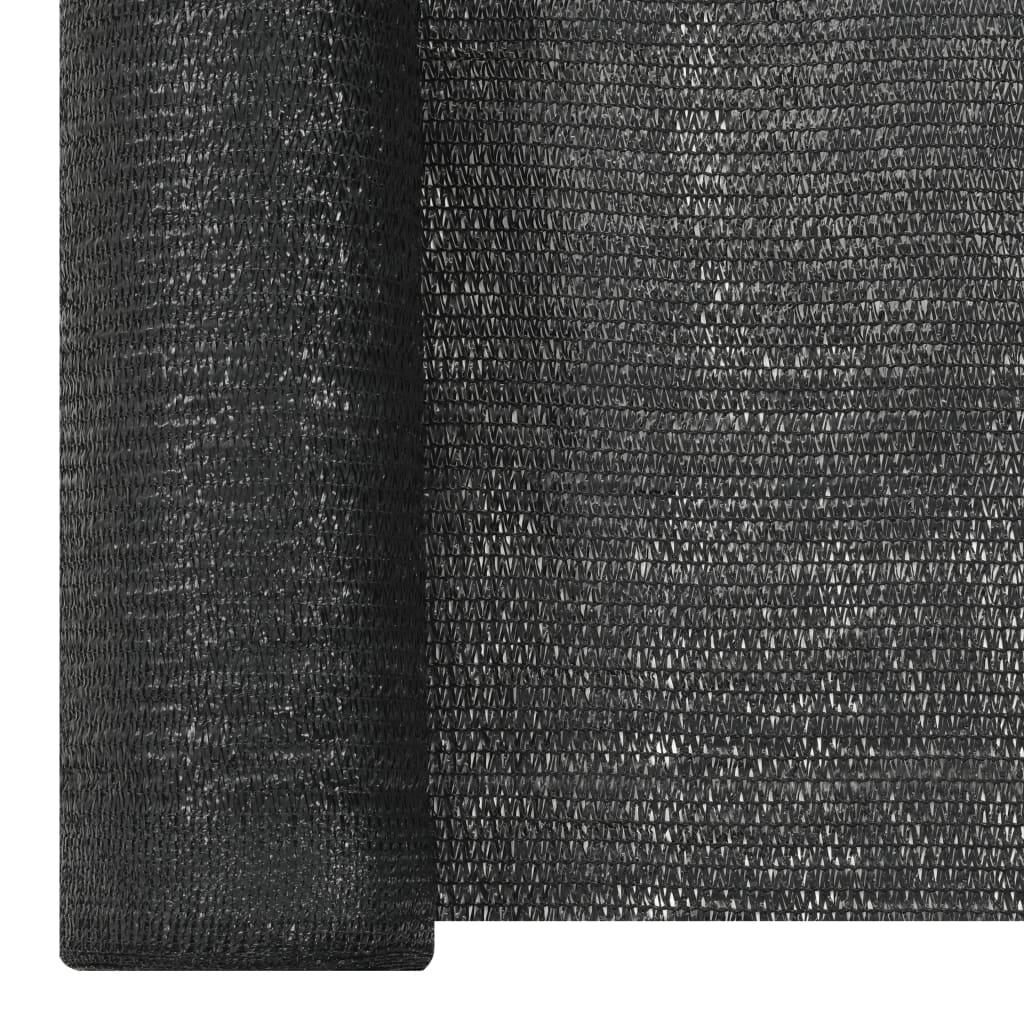 Privacynet 150 g/m² 1,2x25 m HDPE zwart