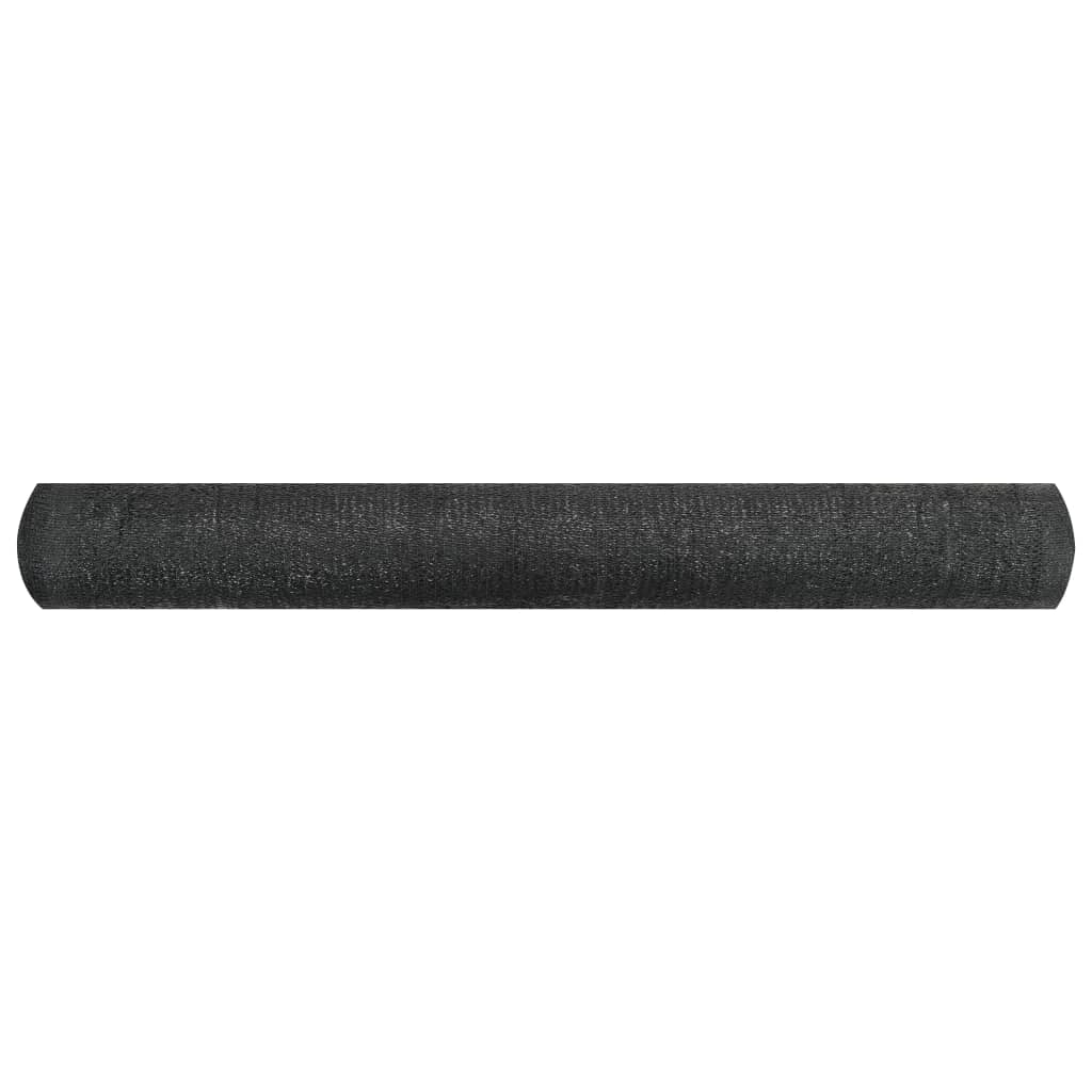 Privacynet 150 g/m² 1,2x50 m HDPE zwart