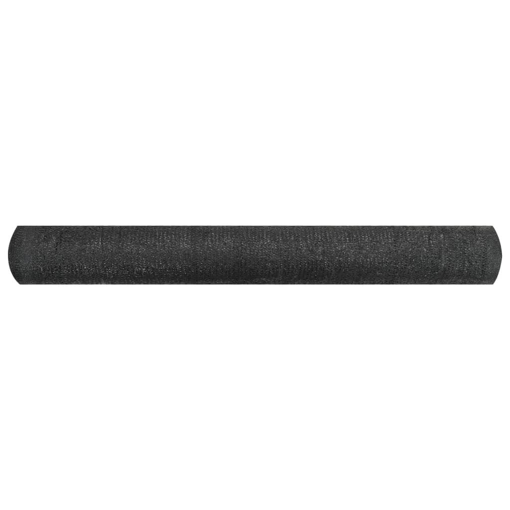Privacynet 195 g/m² 1,2x25 m HDPE zwart