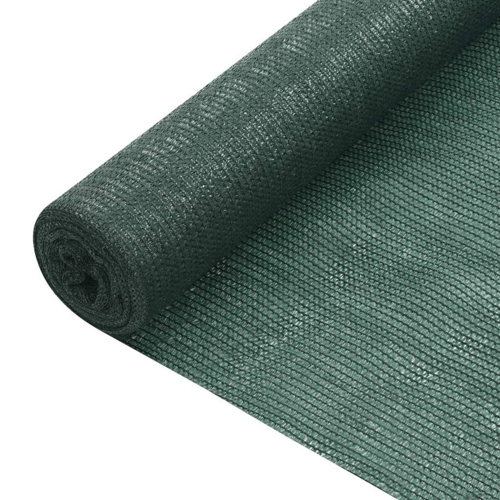 Zaunblende Grün 3,6×50 m HDPE 75 g/m²