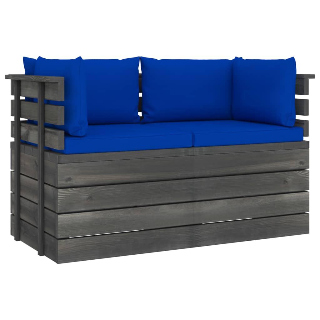Canapé de jardin 2 places Pas cher Design Confort
