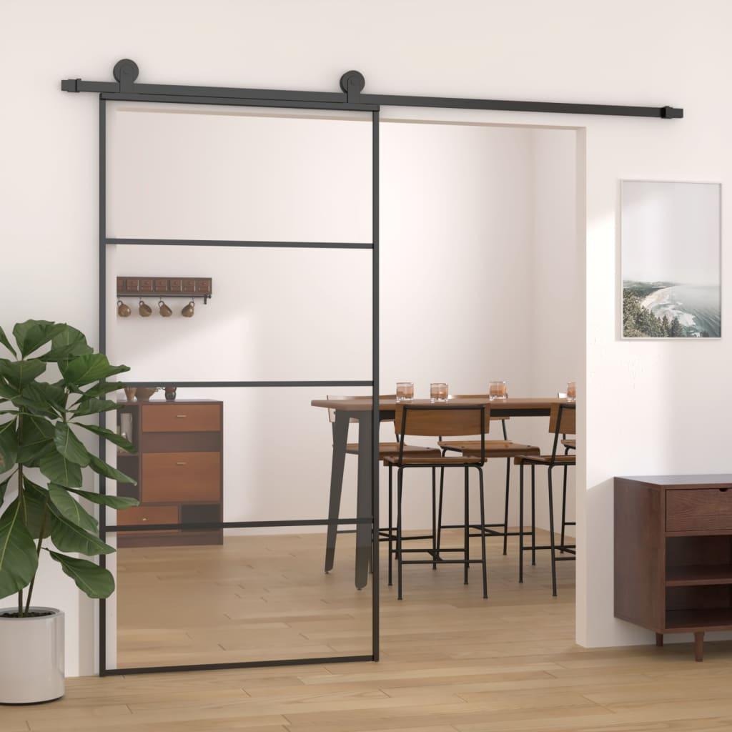 Liuguks, alumiinium ja ESG-klaas, 102,5 x 205 cm,..