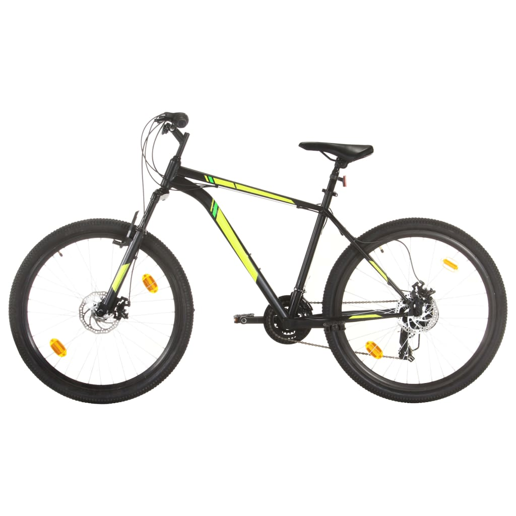 9993067221 Mountainbike 21 Gang 27,5 Zoll Rad 50 cm Schwarz