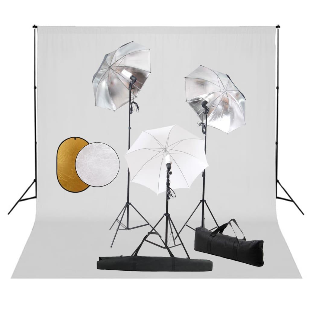 Fotostuudiokomplekt lambid, ..
