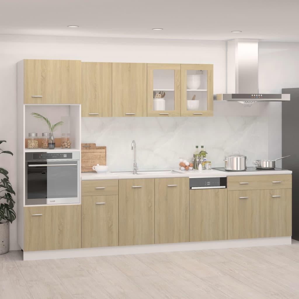 7-osaline köögikapi komple..