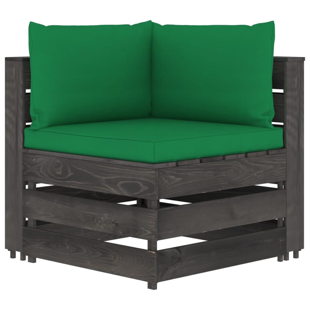 Canapé d'angle Gris Pas cher Design