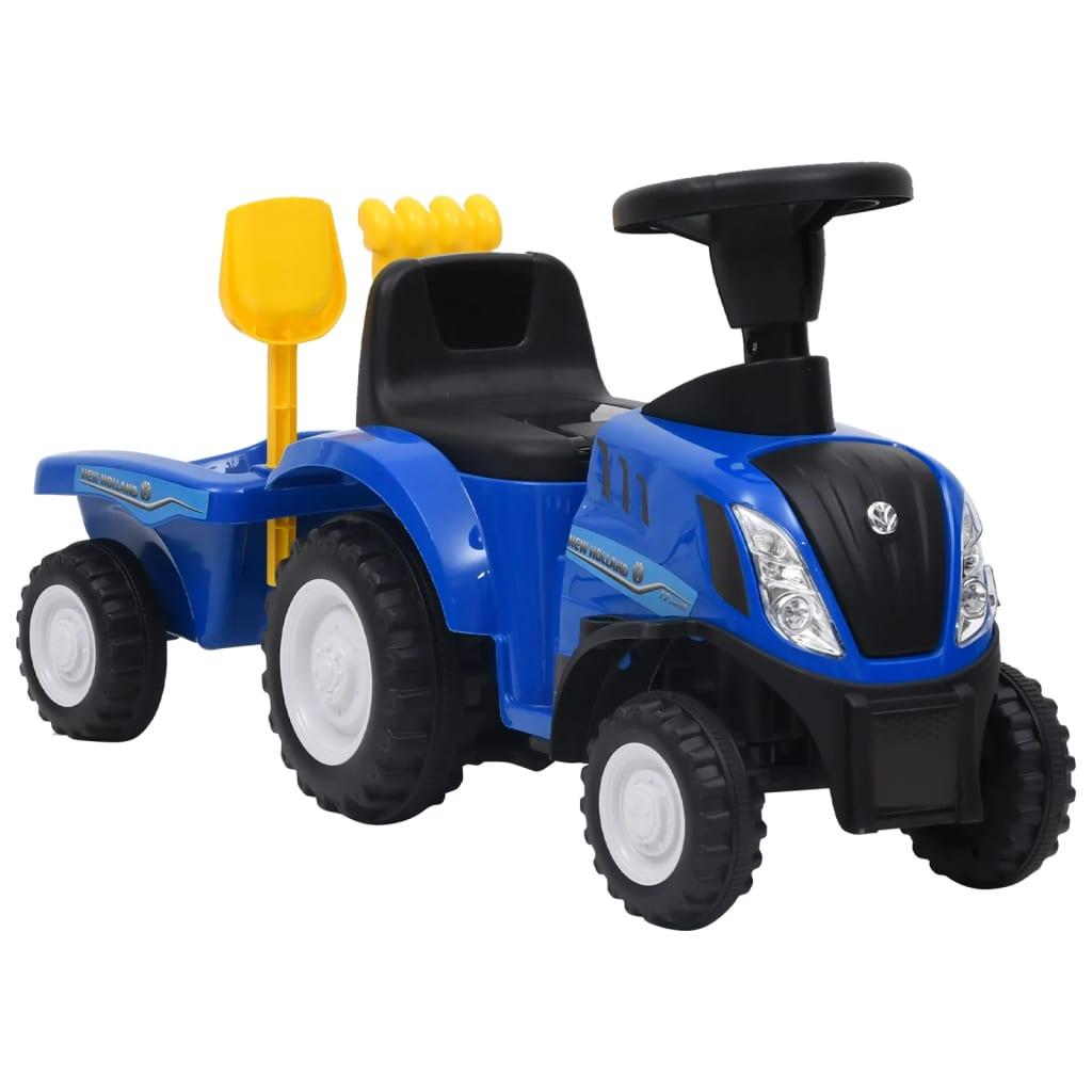 Dječji traktor New Holland plavi