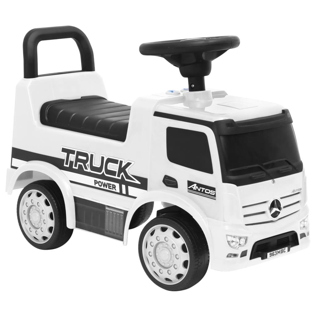 Dječji automobil Mercedes-Benz kamion bijeli