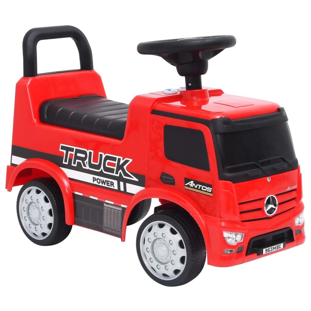Dječji automobil Mercedes-Benz kamion crveni