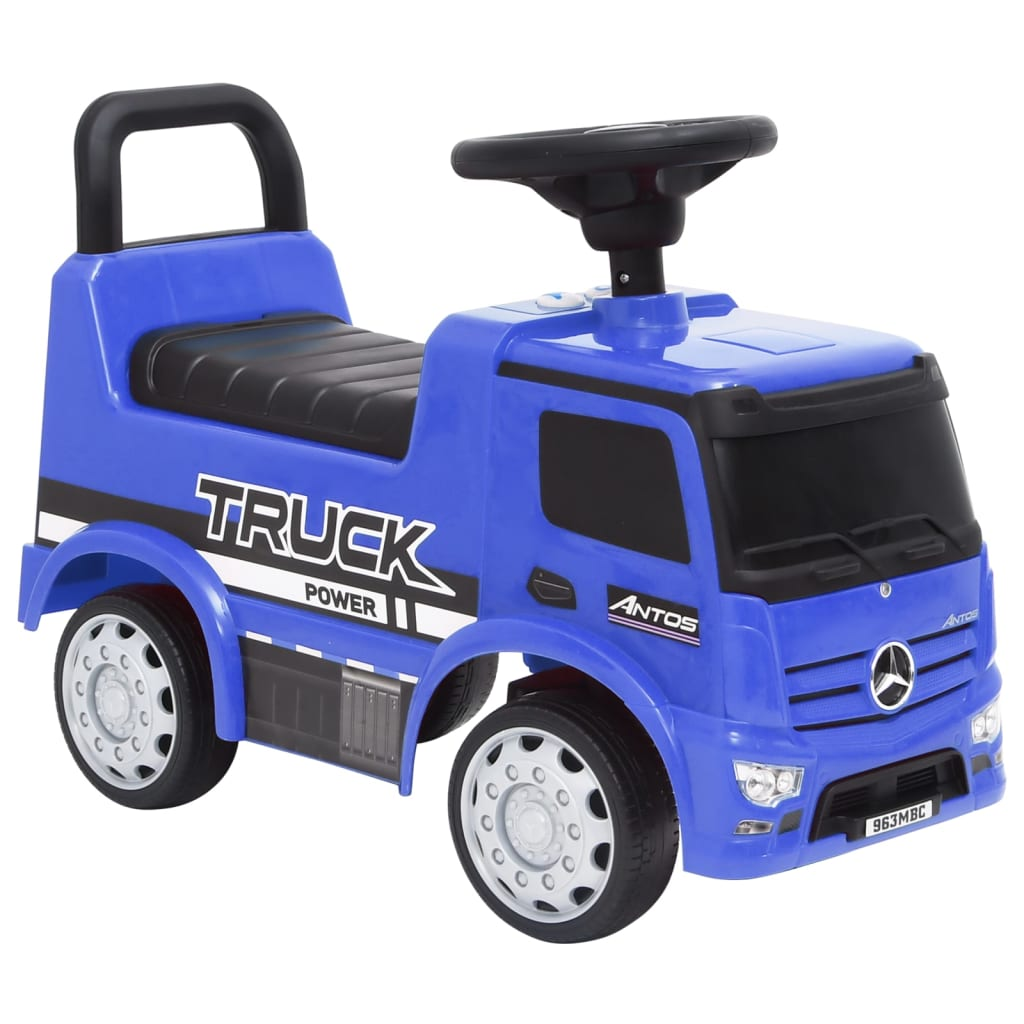 Dječji automobil Mercedes-Benz kamion plavi