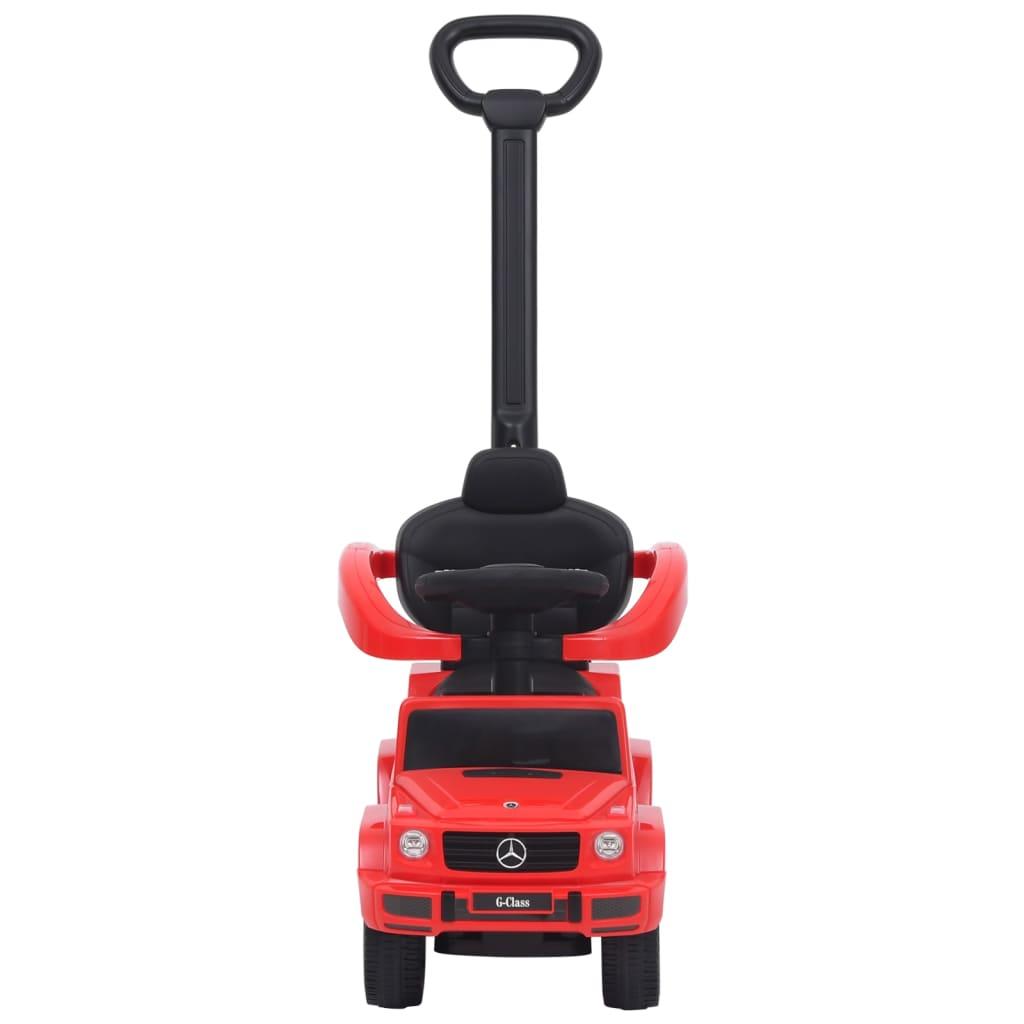 vidaXL Duw-loopauto Mercedes Benz G63 rood
