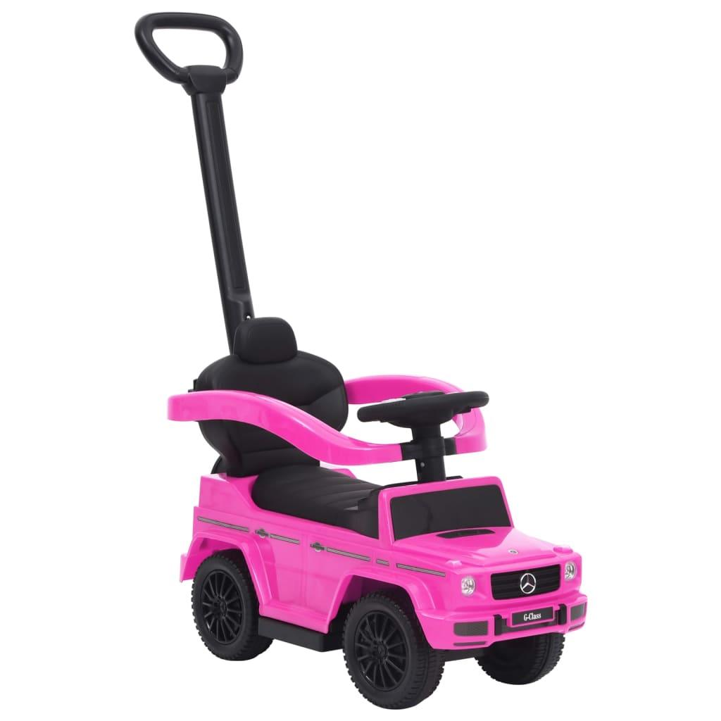 Dječji automobil na guranje Mercedes-Benz G63 ružičasti