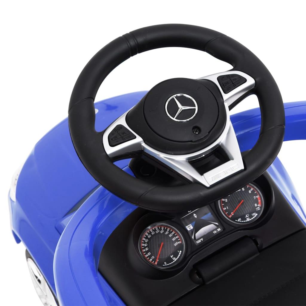 Duw-loopauto Mercedes Benz C63 blauw
