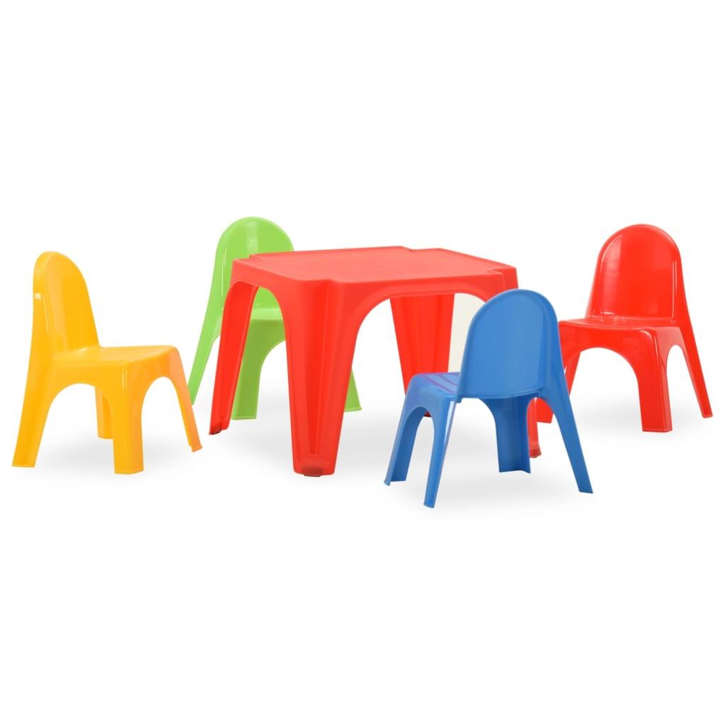 Dětský stůl s židlemi PP