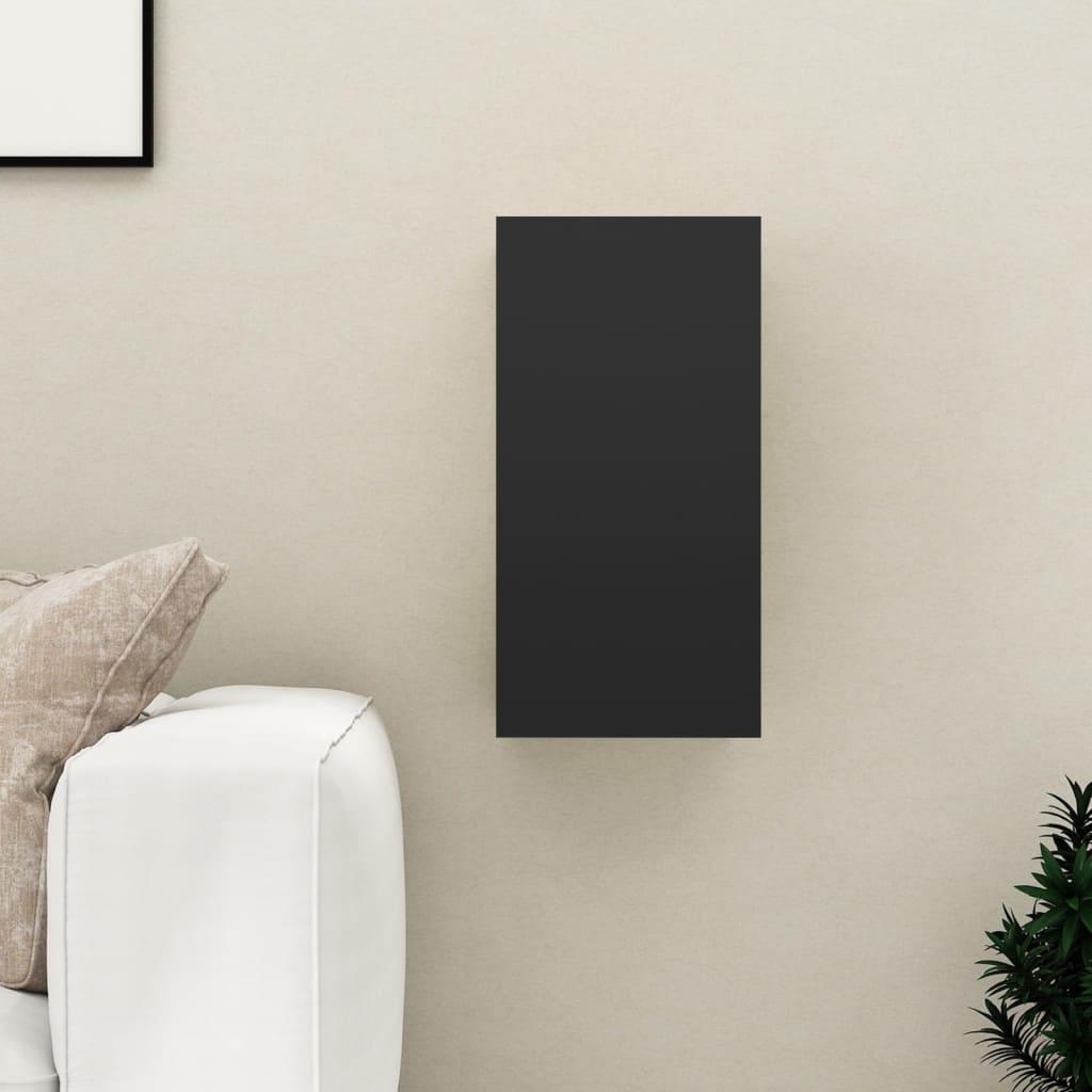 TV stolek černý 30,5 x 30 x 60 cm dřevotříska