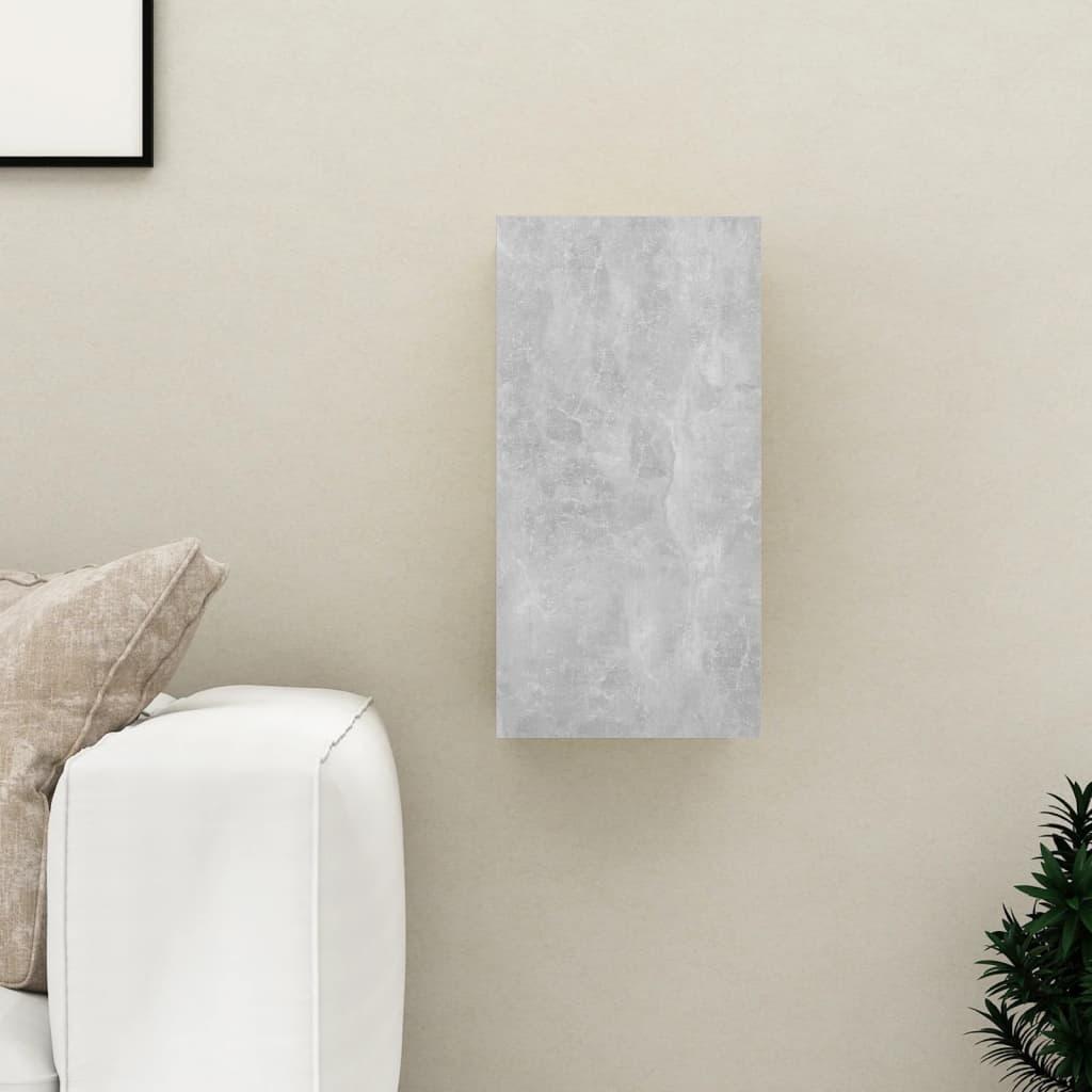 TV stolek betonově šedý 30,5 x 30 x 60 cm dřevotříska
