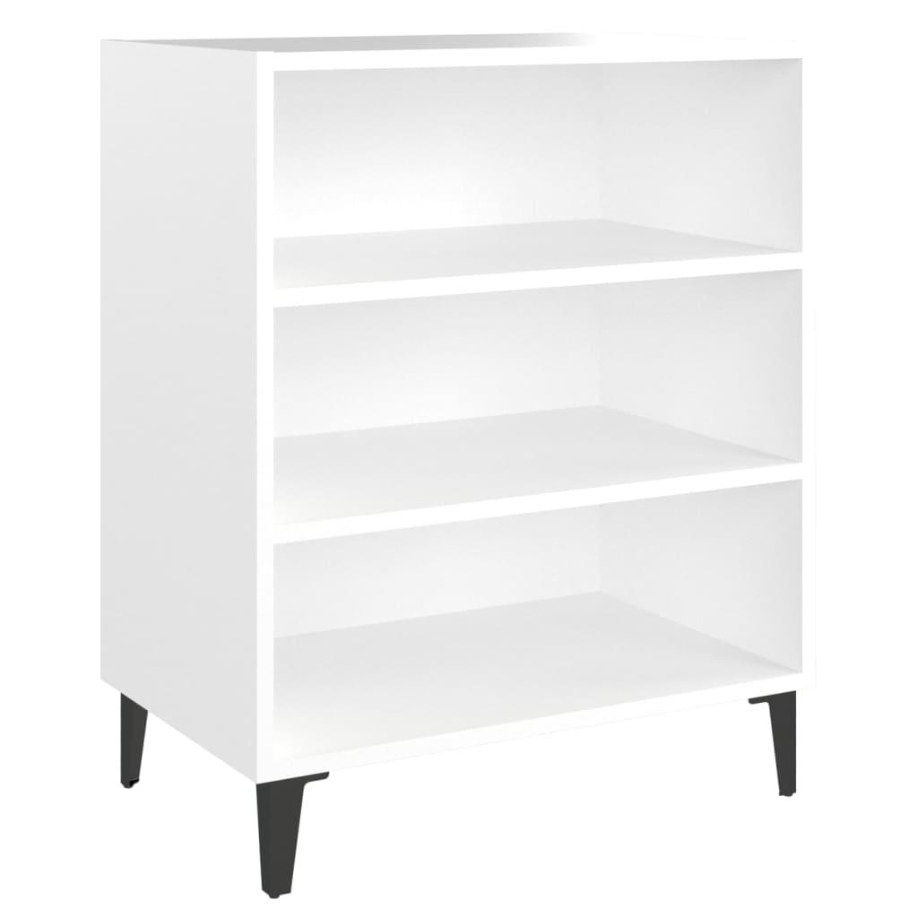 Dressoir 57x35x70 cm spaanplaat wit