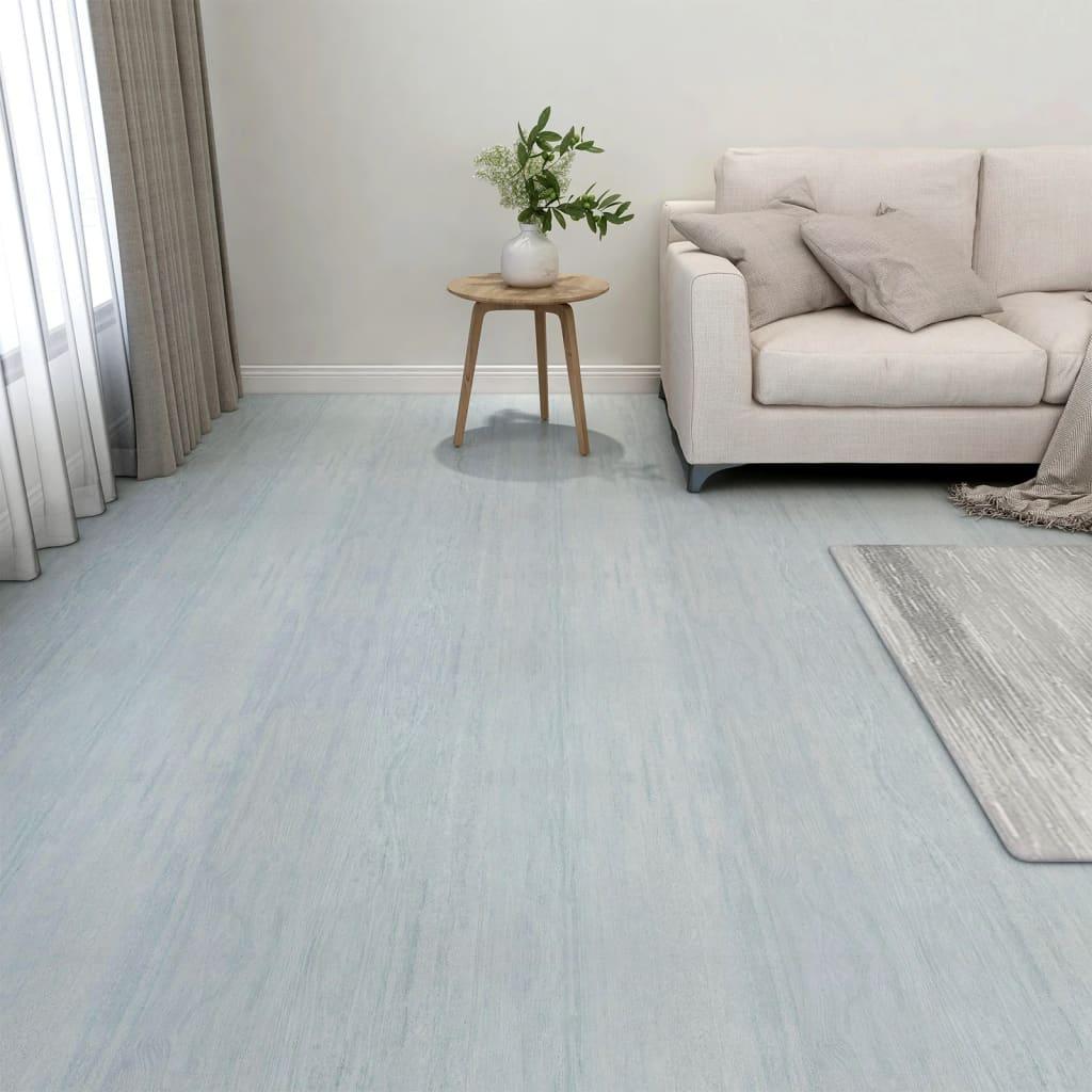 Samolepicí podlahové desky 20 ks PVC 1,86 m² zelené