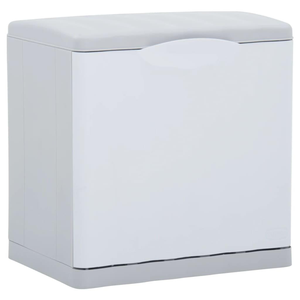 vidaXL Abfalleimer Recycling Weiß 20 L 40x30x40 cm