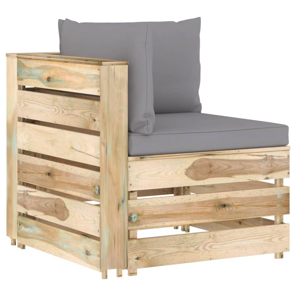 Canapé d'angle Pas cher Design Vert