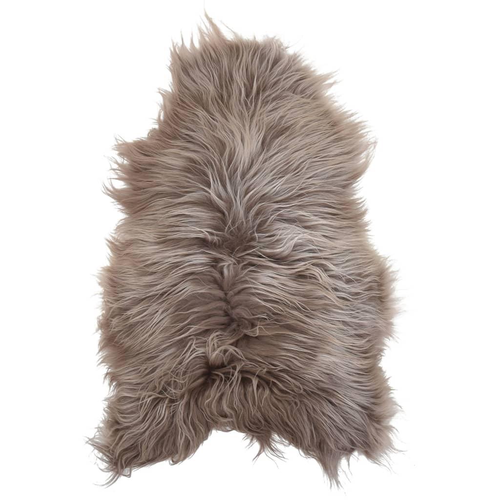 vidaXL Islandská ovčí kůže taupe 70 x 110 cm