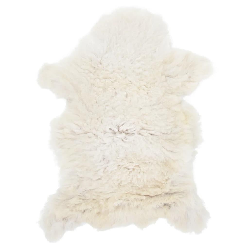 vidaXL Ovčí kůže krémová 70 x 100 cm