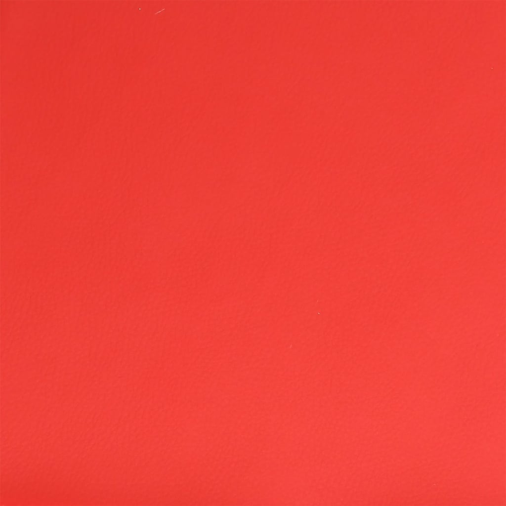 vidaXL Barkruk kunstleer rood