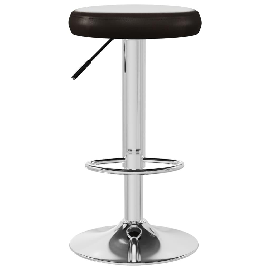vidaXL Barkruk kunstleer bruin